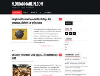florianmarlin.com screenshot
