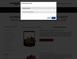 floriculturanaweb.com.br screenshot