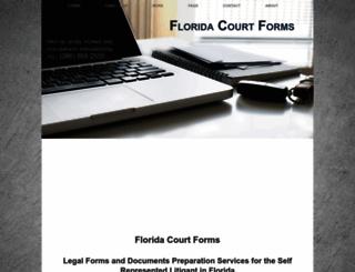 florida-court-forms.net screenshot