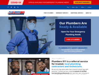 florida.plumbers911.com screenshot