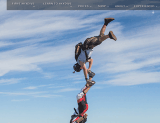 florida.skydivespaceland.com screenshot
