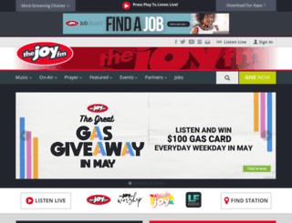 florida.thejoyfm.com screenshot