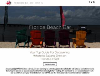 floridabeachbar.com screenshot