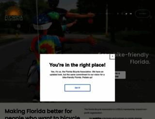 floridabicycle.org screenshot