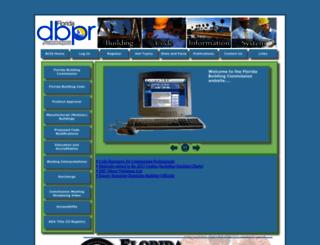floridabuilding.org screenshot