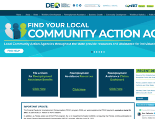 floridajobs.org screenshot