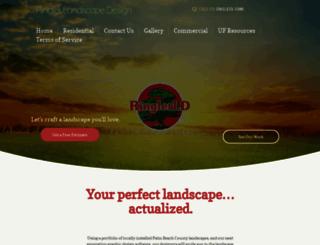 floridalandscapedesigner.com screenshot