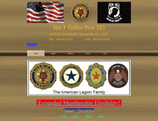 floridalegion283.org screenshot