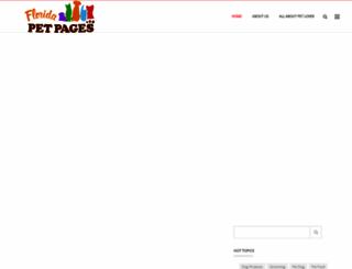 floridapetpages.com screenshot