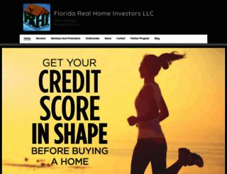 floridarealhomeinvestorsllc.com screenshot