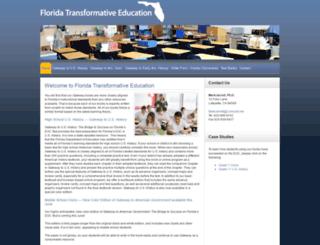 floridasocialstudies.com screenshot