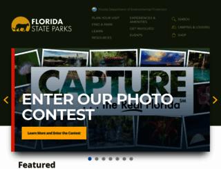 floridastateparks.org screenshot