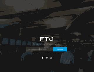 floridatechnologyjournal.com screenshot