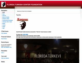 floridaturkishcenter.org screenshot