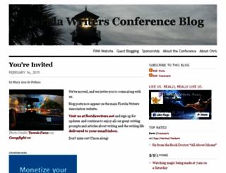 floridawriters.wordpress.com screenshot