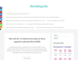 florinblog.info screenshot