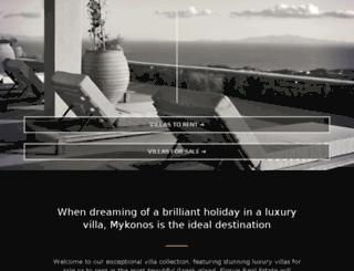 florios-mykonos-villas.com screenshot