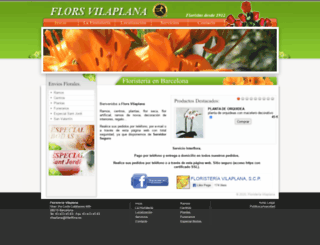 floristeriavilaplana.com screenshot