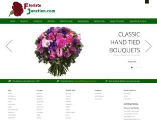 floristsjunction.com screenshot