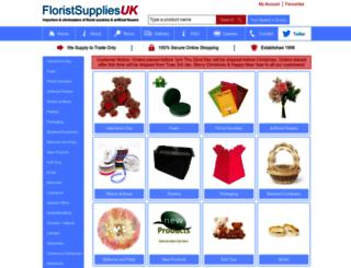 floristsuppliesuk.com screenshot