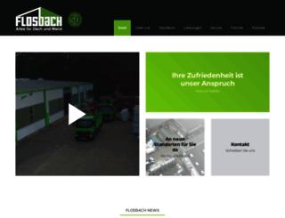 flosbach.de screenshot