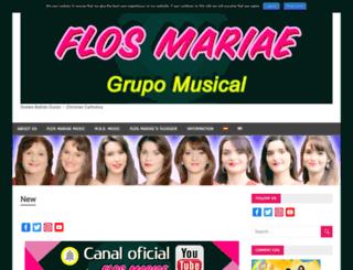 flosmariae.com screenshot