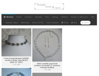 flossiesjewelsngems.com screenshot