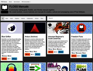 flossmanuals.net screenshot