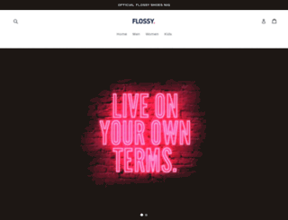 flossyshoesnig.com screenshot