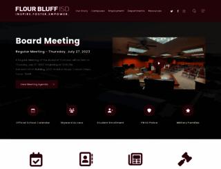 flourbluffschools.net screenshot