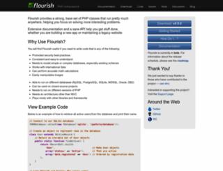 flourishlib.com screenshot