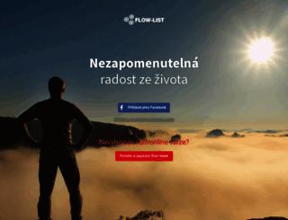 flow-list.cz screenshot