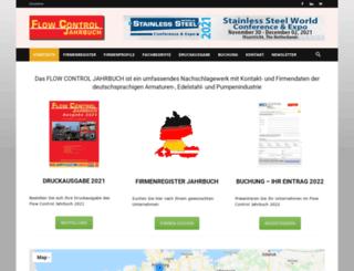 flowcontrol-jahrbuch.com screenshot