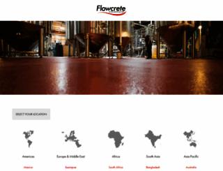 flowcrete.com screenshot