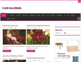 flower-wallpaper.org screenshot