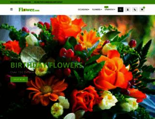 flower.com screenshot