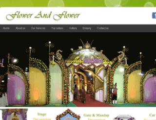 flowerandflower.in screenshot
