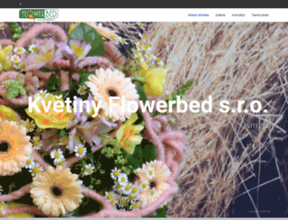 flowerbed.cz screenshot