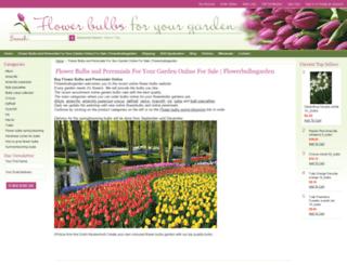 flowerbulbsgarden.com screenshot