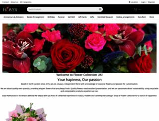 flowercollectionuk.com screenshot