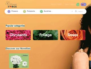 flowerforce.nl screenshot