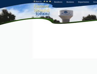 flowermound.dfwmaps.com screenshot