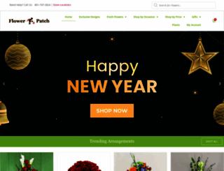 flowerpatch.com screenshot