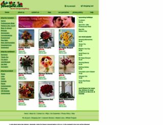 flowerpetal.com screenshot