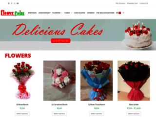 flowerpointonline.com screenshot