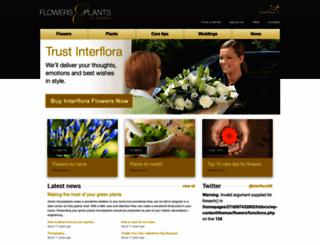 flowers.org.uk screenshot