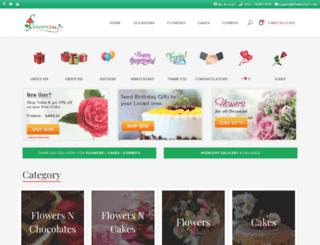 flowers24x7.com screenshot