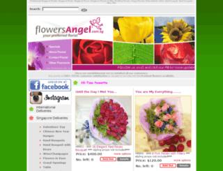 flowersangel.com.sg screenshot