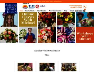 flowerschool101.com screenshot