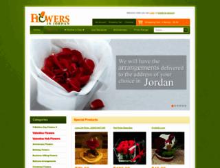 flowersinjordan.com screenshot